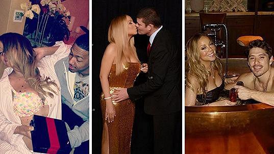 Mariah Carey a její Valentýn v roce 2014, 2016 a letos...