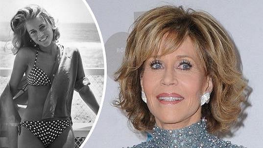 Jane Fonda v rozmezí 50 let