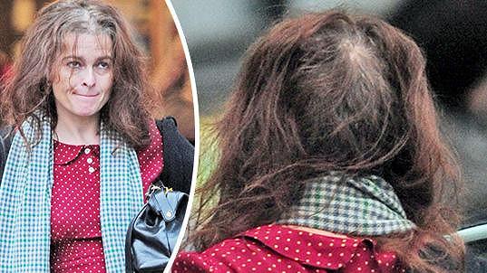Anglická herečka vyrazila na nákupy do centra Londýna.