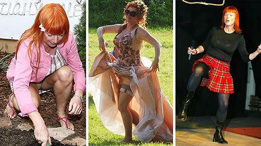 Bára Štěpánová a její bizarní outfity