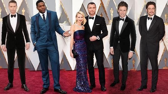 Vítězové, nominovaní, předávající při příležitosti 88. ročníku udílení Cen americké filmové akademie
