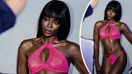 Naomi je v nové kampani opravdu žhavá.