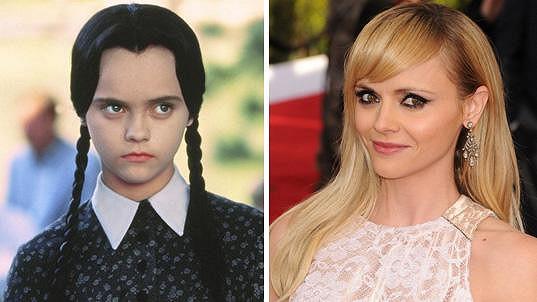 Takhle se Christina Ricci proměnila za 25 let.