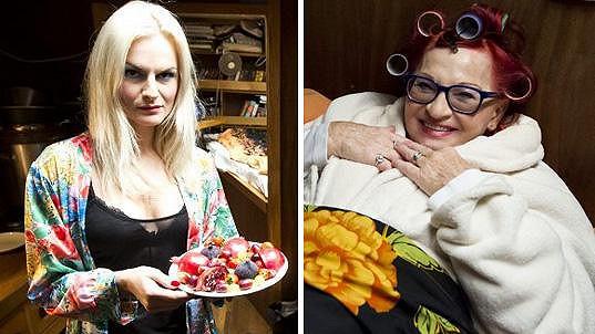 Iva Pazderková a Jana Synková v seriálu Na vodě