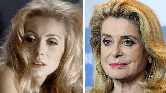 Catherine Deneuve po 50 letech