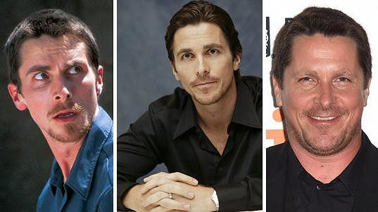Christian Bale je jako chameleon.