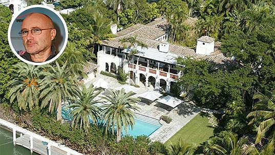 Dům na pláži Phila Collinse disponuje veškerým komfortem...