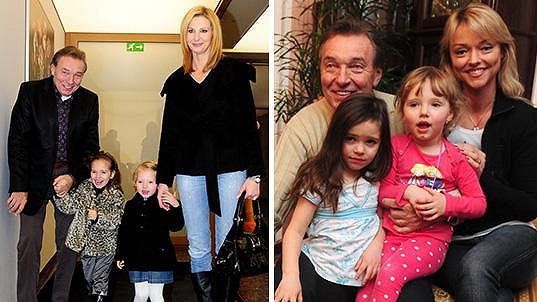 Karel Gott mládne zejména díky rodině...