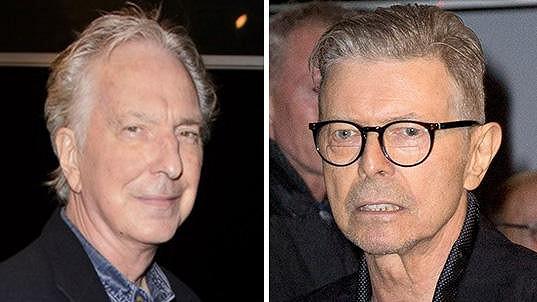 Alan Rickman a David Bowie