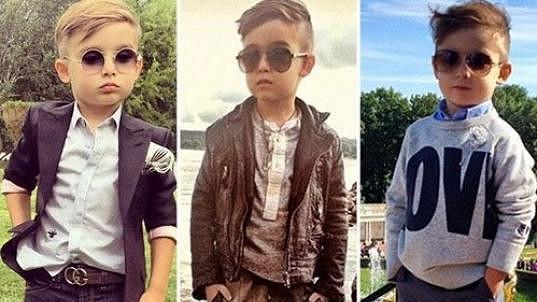 Alonso Mateo již v pěti letech podléhá módním trendům.