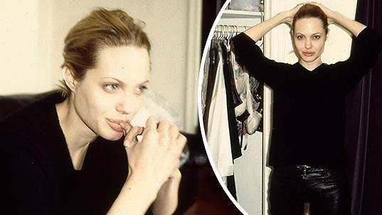 Angelina Jolie koncem 90. let
