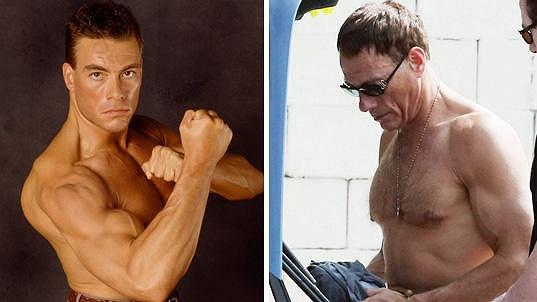 Jean-Claude Van Damme má stále vypracovanou postavu.