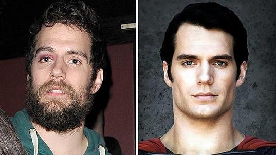 Superman vypadá v civilu jako povaleč.
