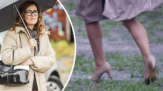 Slovenská herečka se ničeho nebojí.