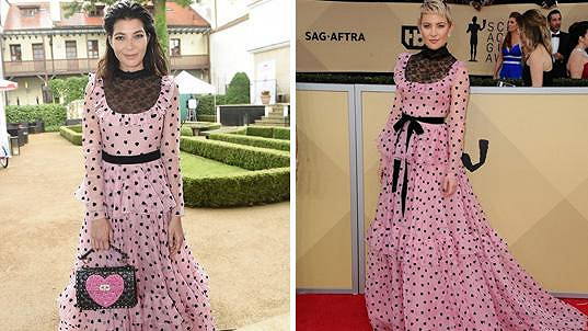 Monika Marešová oblékla stejné šaty jako hollywoodská hvězda  Která ... 5f133733370
