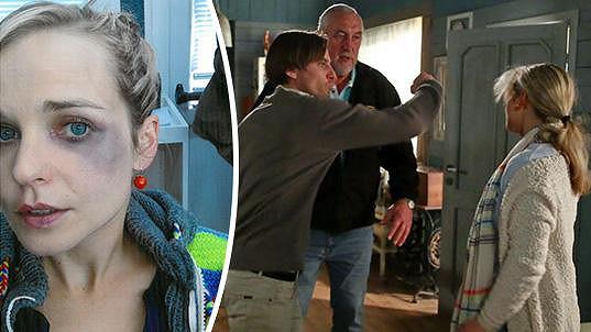 Herečka Kristýna Kociánová natáčela hodně nepříjemnou scénu.
