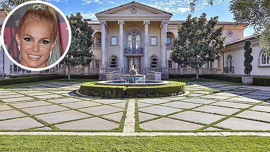 Nový dům Britney Spears