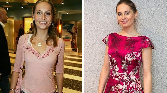 Danica Jurčová v roce 2007 a dnes