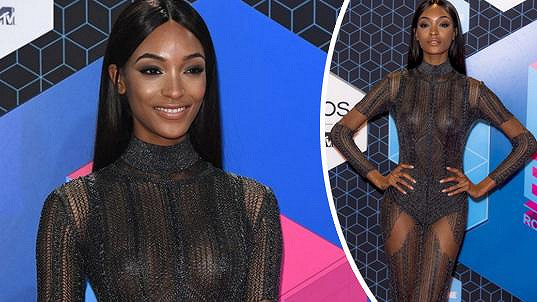 Jourdan Dunn ozdobila udílení MTV European Music Awards.