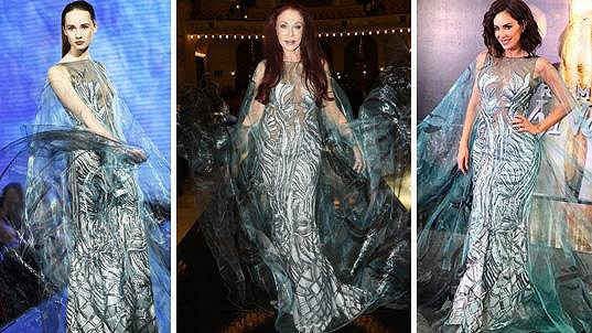 Matragi oblékla do svého modelu mexickou zpěvačku a herečku.