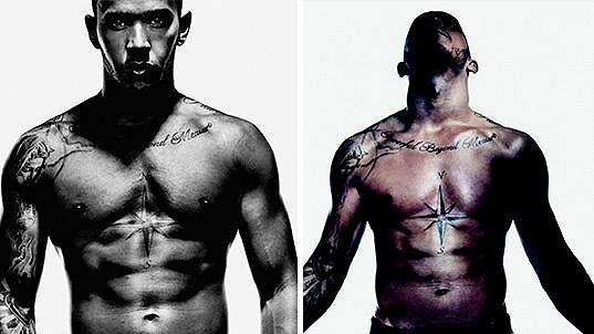 Lewis Hamilton má tělo snů.