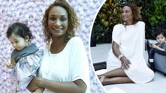 Bude Lejla rodit dvojčata doma, stejně jako dceru Iman?