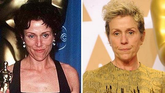 Frances McDormand po 21 letech