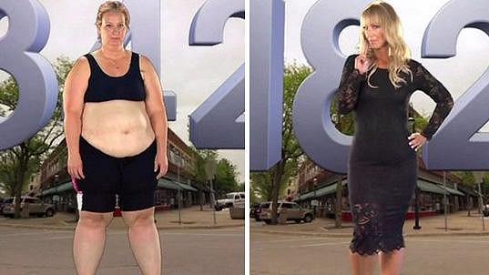 Jennifer Snell zhubla 72 kilogramů.