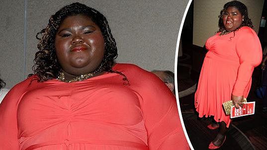 Gabourey Sidibe je pořádný kusanec ženské.