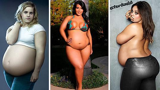 Celebrity s pořádnou nadváhou. Co na ně říkáte?