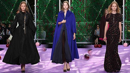 Klímková, Koláriková a Petrovičová zářily na přehlídce Dior v Paříži.