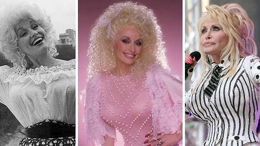 Takhle se strašidelná image Dolly Parton měnila v čase.....