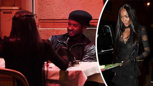 Naomi Campbell si dala dostaveníčko s Usherem...