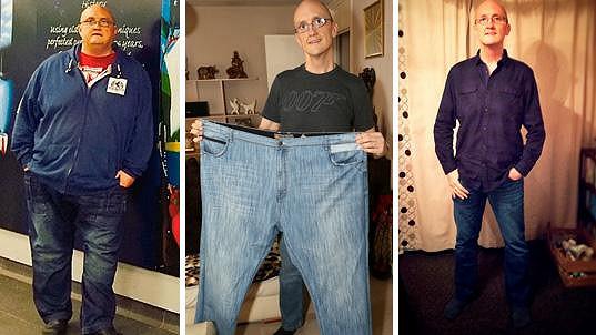 Brian Harrison je na polovině své původní váhy.