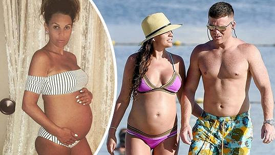 Danielle bude brzy čtyřnásobnou maminkou.