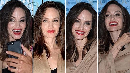 Herečka a režisérka Angelina Jolie