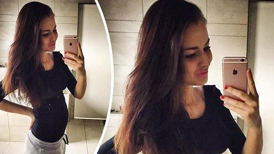 Tereza Chlebovská čeká první dítě.