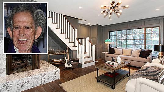 V tomto domě kdysi řádil Keith Richards...