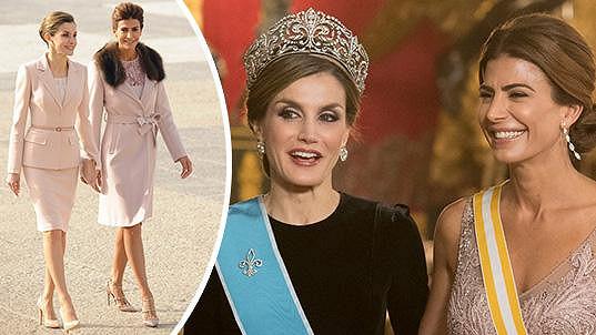 Královna Letizia a argentinská první dáma Juliana Awada