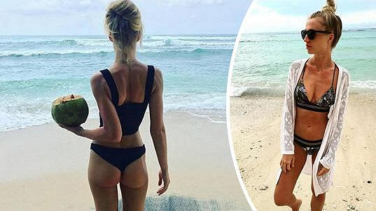 Veronika Kašáková strávila dovolenou na Bali.