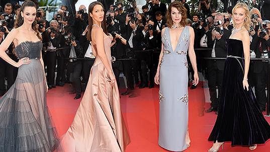 Ty nejúchvatnější róby a šperky z Cannes