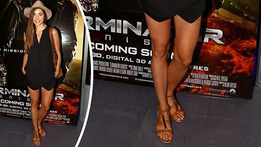 Denisa Domanská šla s opálenou kůží na trh.