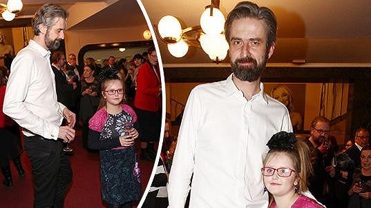 Roman Zach s dcerou