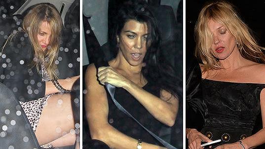 Tyto dámy to přehnaly s alkoholem.