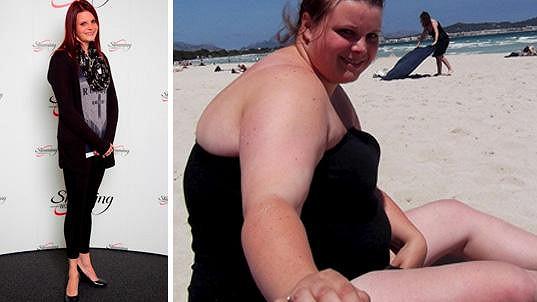 Hayley Blackler zhubla 44 kilogramů.