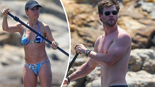 Chris Hemsworth a Elsa Pataky tvoří dokonalý pár.