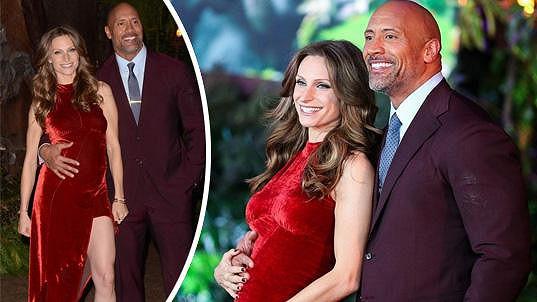 Dwayne Johnson bude opět tatínkem.