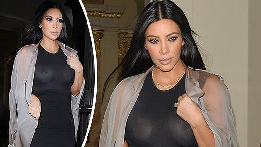 Kim Kardashian je ráda středem pozornosti.