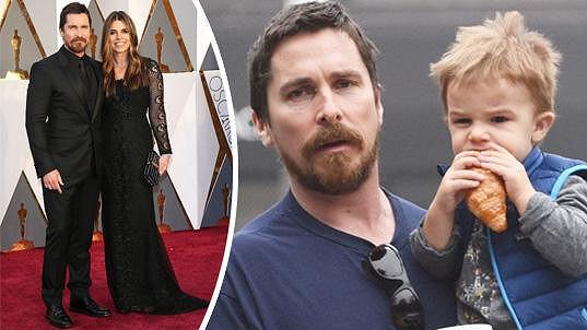 Christian Bale se synem