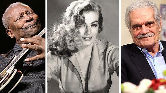 B. B. King, Anita Ekberg a Omar Sharif